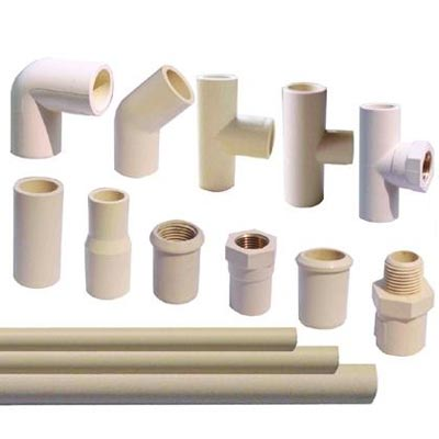 India pvc pipes and fittings industry outlook to 2019 for Plastic plumbing pipe types