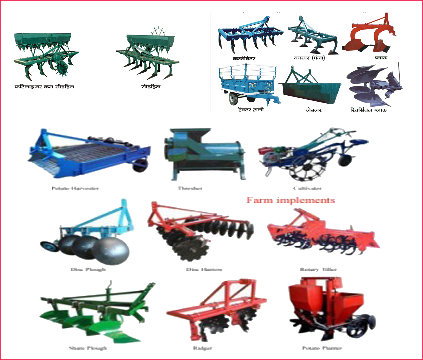 Name Of Parts Farm Implements : Thailand agricultural equipments market farm