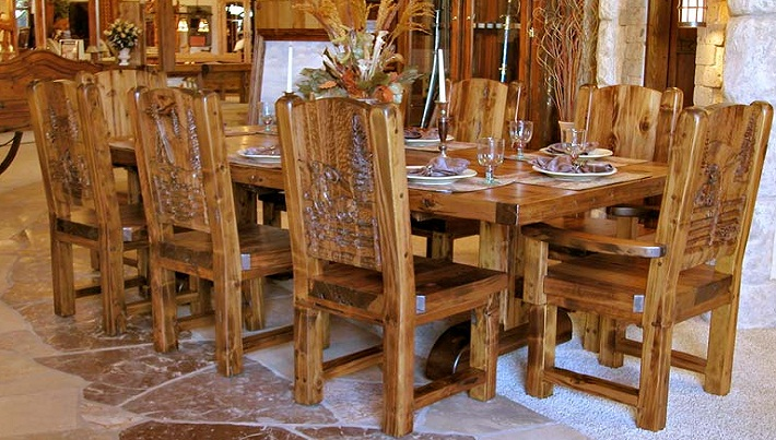 Wooden Furniture Industry Indonesia Dining Set Sales In